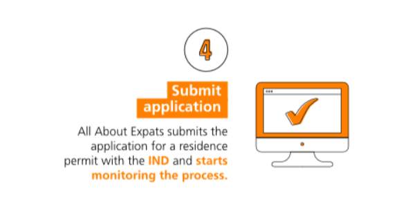 Step-by-step immigration: submit application