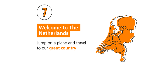 Step-by-step immigration: welcome to the Netherlands
