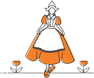 dutch tulip girl
